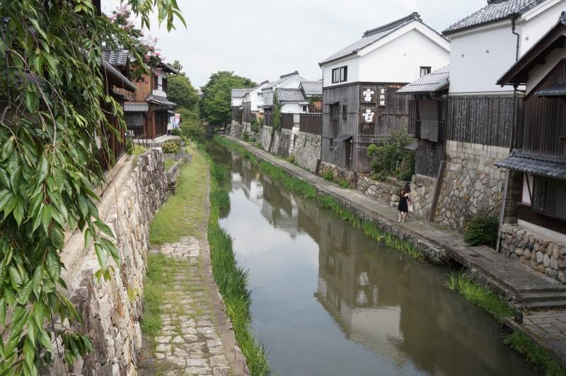 八幡堀(滋賀県近江八幡)