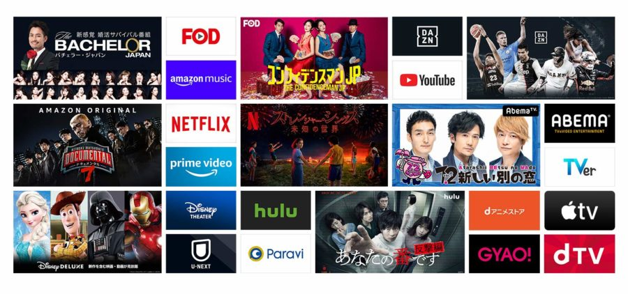 Gyao テレビ 接続